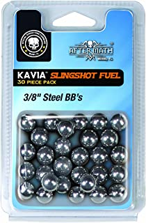 AfterMath Bone Collector Slingshot Fuel, 3/8 inch BBS (100 Count)