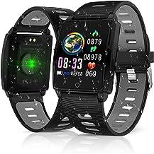 2019 Version Fitness Tracker, Cegar Smart Watch with Heart Rate Blood Pressure Sleep..