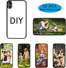 10PCS Sublimation Blanks Phone Case Covers for iPhone X, TPU+PC Material, 5.8 Inch. Sublimation Blanks Printable Phone Case DIY