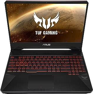 Asus TUF Gaming FX505DU-AL085T Gaming Laptop (Black) - AMD R7-3750H 2.3 GHz, 16 GB RAM, 1TB + 256GB SSD, Nvidia GeForce GTX 1660Ti,15.6 inches, Windows 10,Eng-Arb-KB