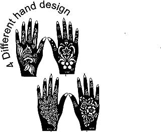 Ivana's Tatto Stencil for   Hand   Body   Face   Heena Art Temporary Tatto for Girls & Women, Design No. 1031