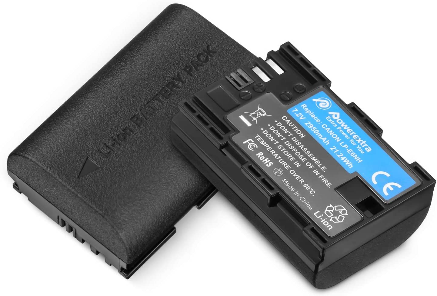 Powerextra LP-E6NH Super sale period limited High Capacity Batteries LP- for 2950mAh Boston Mall Canon