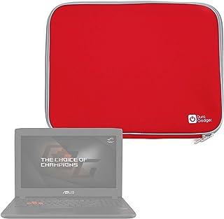 DURAGADGET Funda De Neopreno Roja para Portátil Medion Erazer P6689, P7651, Medion P6687 / XMG Core 15 / Acer Aspire 7 715-71G-78FD - Ideal para Proteger Su Dispositivo De Golpes Y Arañazos