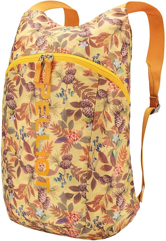 NJ Rucksack- Outdoor Skin Pack Männer und Frauen Frauen Frauen Casual Light Reisetasche Sport Rucksack Faltbare 8 Farben (Farbe   Hellgelb) B07K6F27L3  Online-Verkauf 2b44a1