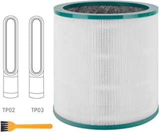 Colorfullife Replacement Air Purifier Filter for Dyson Tower Purifier Pure Cool Link TP02, TP03, Compare to Part 968126-03