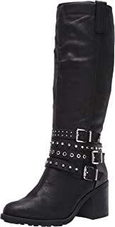 Fergie Womens Prohibit Black High Shaft Boots 6 M
