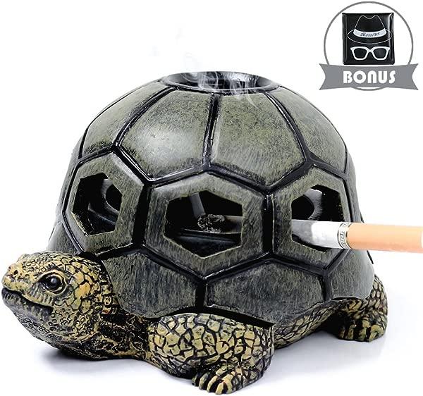 Monsitter Turtle 烟灰缸香烟可爱烟灰缸家庭和户外