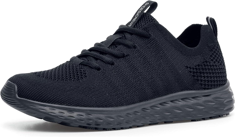 Shoes 特価 for CrewsEverlight Women's Lightweig Slip 公式ストア Breathable Non