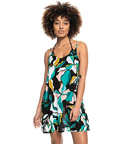 Roxy Printed Beachy Vibes Cover-Up Dress