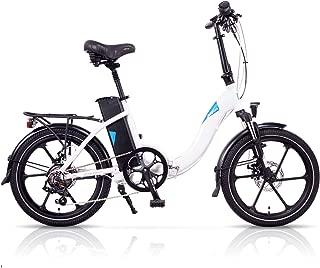 Magnum Premium -Low Step Folding Electric Bicycle - 48V 13A Samsung Lithium Battery – 500 Watt Rear Motor – Rear Rack – Alloy Wheels – 2016 Ebike