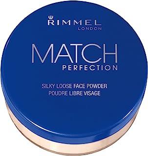 Rimmel London Match Perfection Loose Powder, Transparent, 0.35 Ounce