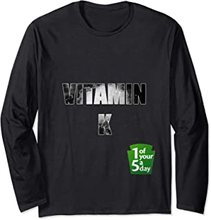 Vitamin K Funny Rave Long Sleeve T-Shirt