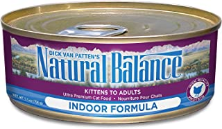 Natural Balance Indoor Ultra Premium Formula Canned Cat Food, 5.5 Oz