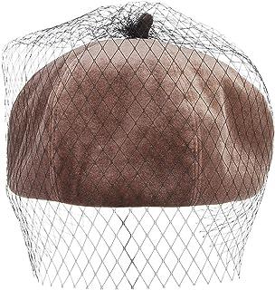 Hulione Fashion Women Octagonal Hats Cap Female Hats for Women Girl Blank Boina Flat Berets Winter Octagonal Caps Hat