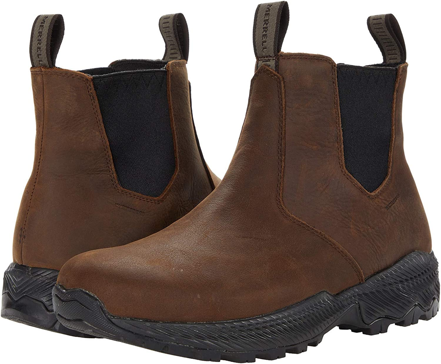 Merrell Men's Forestbound Waterproof Chelsea Boot 40% OFF Cheap Sale Oklahoma City Mall