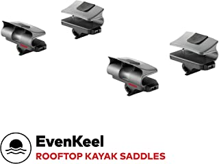yakima - EvenKeel Rooftop Mounted Boat Rack for Vehicles, Carries 1 Boat