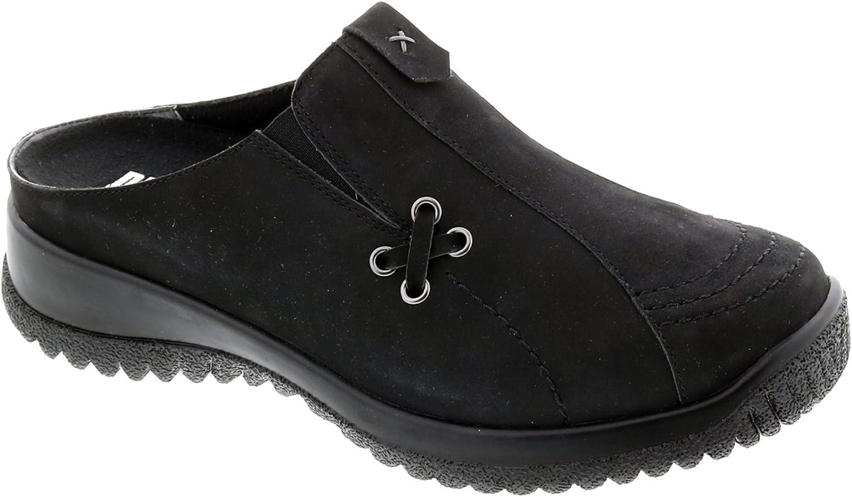 Ranking TOP20 Fresno Mall Drew Shoes Hannah 17102 Women's Casual 9 Narr Black Nubuck Clog: