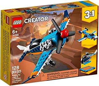 LEGO Creator Propeller Plane for age 6+ years old 31099