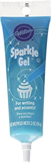 Wilton 704-9991X Light Blue Sparkle Gel Icing Dispenser