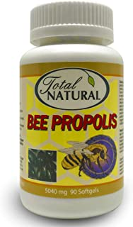 Sponsored Ad - Bee Propolis 5040mg 90 Softgels [12 Bottles] by Total Natural, Safe and Natural Antioxidant Health Suppleme...