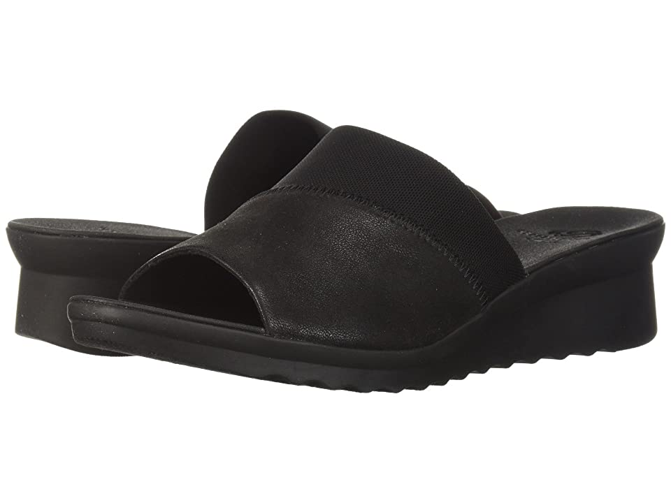 Clarks Caddell Ivy (Black Synthetic) Women