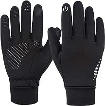 Winter Gloves,Hertekdo Touchscreen Gloves for Men Women Anti-Skid Thermal Gloves