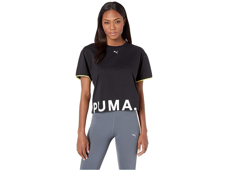 PUMA Chase Cotton Tee (PUMA Black) Women