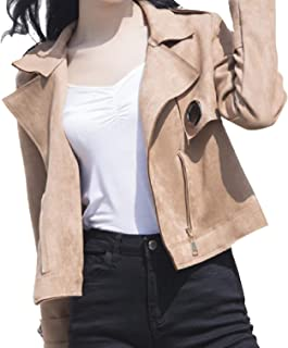 معطف SportsXX نسائي واسع واسع واسع مناسب من الأمام قصير ضيق ضيق