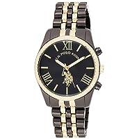 Deals on U.S. Polo Assn. Women's USC40059 Two-Tone Bracelet Watch