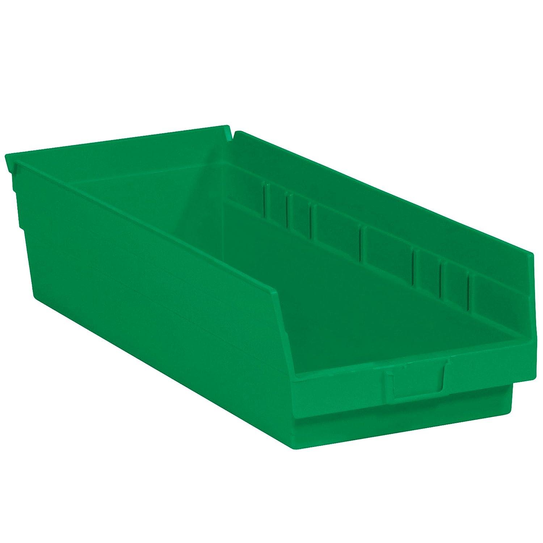 Boxes Fast BFBINPS112G Plastic Cheap mail order sales Shelf Bin x 7 6 8