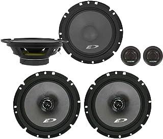 "Alpine SXE-1751S 6.5"" 280w Component+6.5"" 220w 2-Way Car Audio Coaxial Speakers photo"