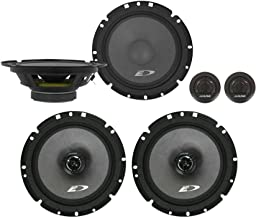 "$72 » Alpine SXE-1751S 6.5"" 280w Component+6.5"" 220w 2-Way Car Audio Coaxial Speakers"