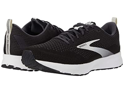 Brooks Revel 4 (Black/Oyster/Silver) Men