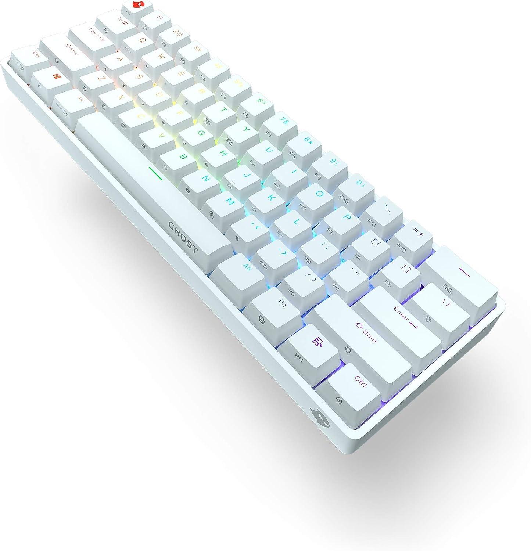 Ghost K1 - Wireless Keyboard White Cherry MX Brown (Soft Click)