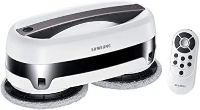 SAMSUNG Electronics VR20T6001MW/AA Jetbot Robotic Cleans with Dual Spinning Microfiber Pads   Smart Sensor Wet Mopping Per...