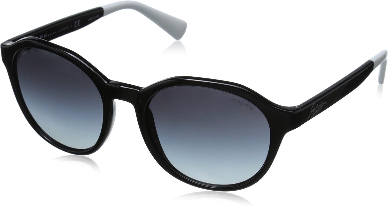 Ralph by Ralph Lauren Women's 0RA5193 Round Sunglasses, Grey