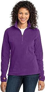 Women's Microfleece 1/2 Zip Pullover