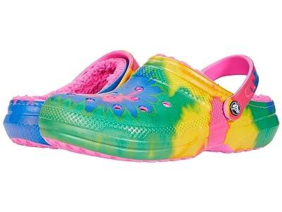 Crocs Classic Lined Tie-Dye Clog