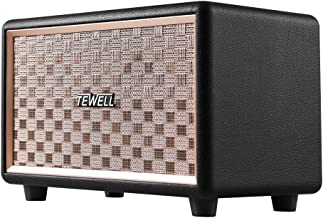 TEWELL Bluetooth Computer Speaker with HD 24W Audio, Extended Bass and Treble, Knob for Volume Control, Toggle Switch and 3.5mm AUX Input