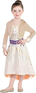 Party City Anna Act 1 Halloween Costume for Girls, Frozen 2, Includes Dress