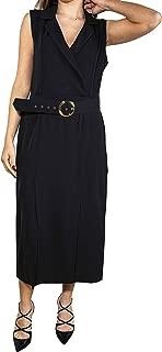 DIXIE Luxury Fashion Womens ADT6FAB0003 Black Dress   Spring Summer 19