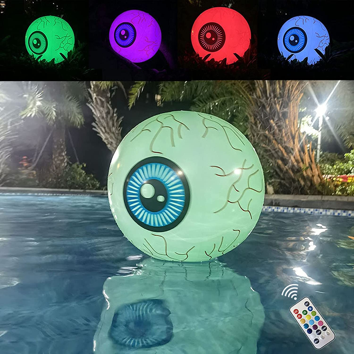 16'' Thanksgiving online shop Inflatable Remote Ranking TOP2 Outdoor Control with Eyeball