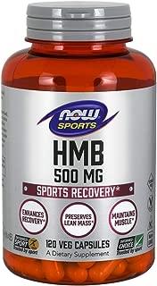 NOW® HMB, 500 mg, 120 Veg Capsules