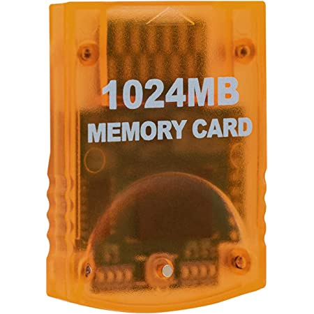Mcbazel 1024MB(16344 Blocks) Memory Card for Gamecube and Wii Console