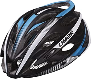 Limar Adult Ultralight Plus Road Helmet Medium Black/White/Blue