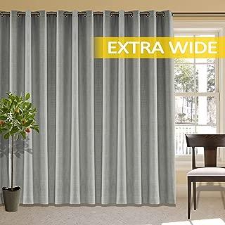 Best extra wide linen curtains Reviews