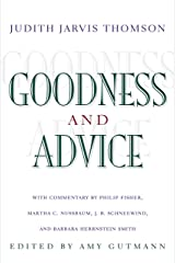 Goodness and Advice (The University Center for Human Values Series Book 25) Kindle Edition