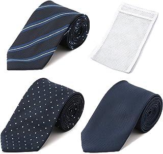 [オリヒカ] 【絶対お得な洗えるネクタイ3点セット】選べるバリエーション 洗濯ネット付 ウオッシャブル加工 専用ネクタイ3点セット メンズ