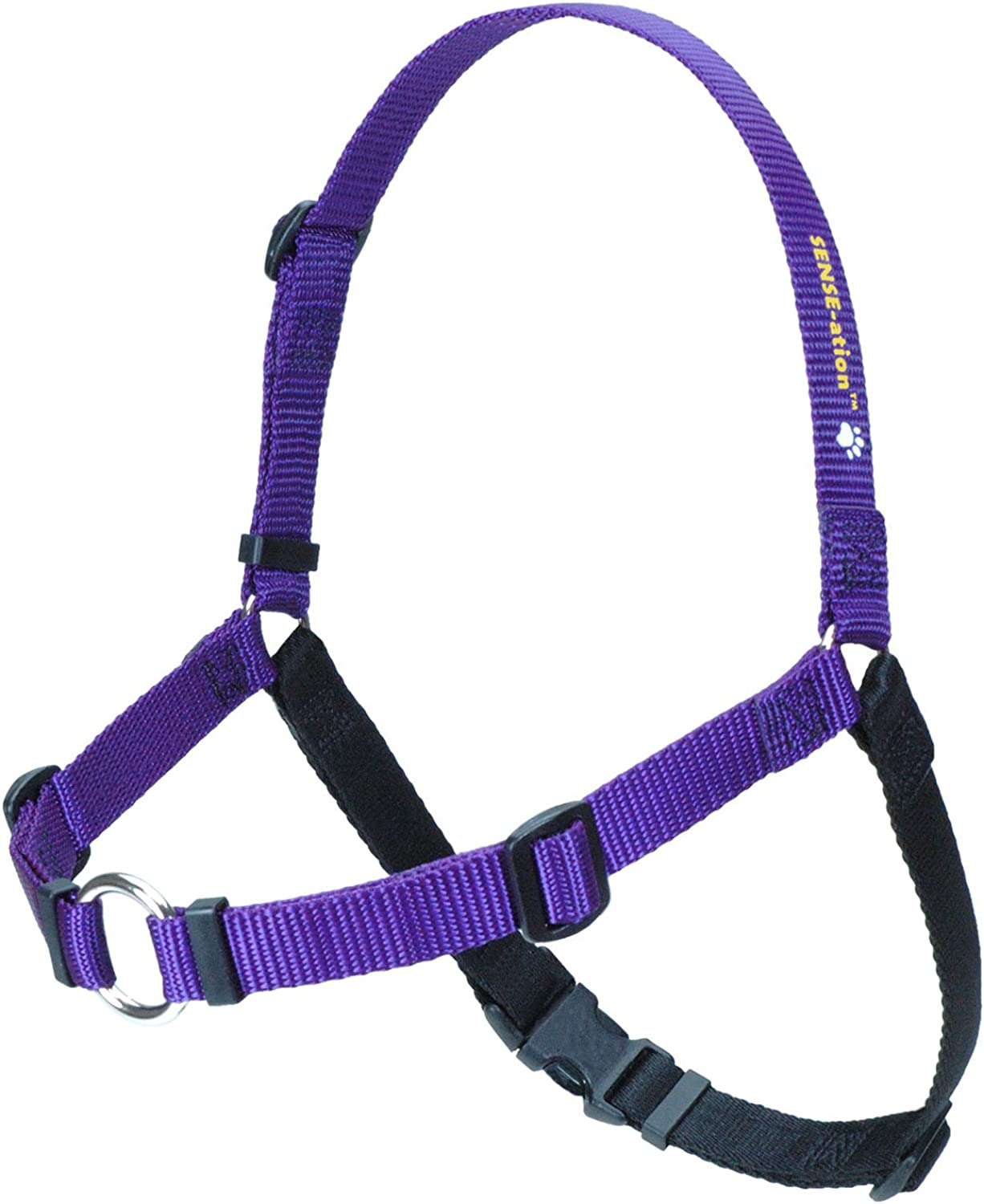 Senseation NoPull Dog Harness (Purple, Medium Large Narrow) by SenseAtion Harness