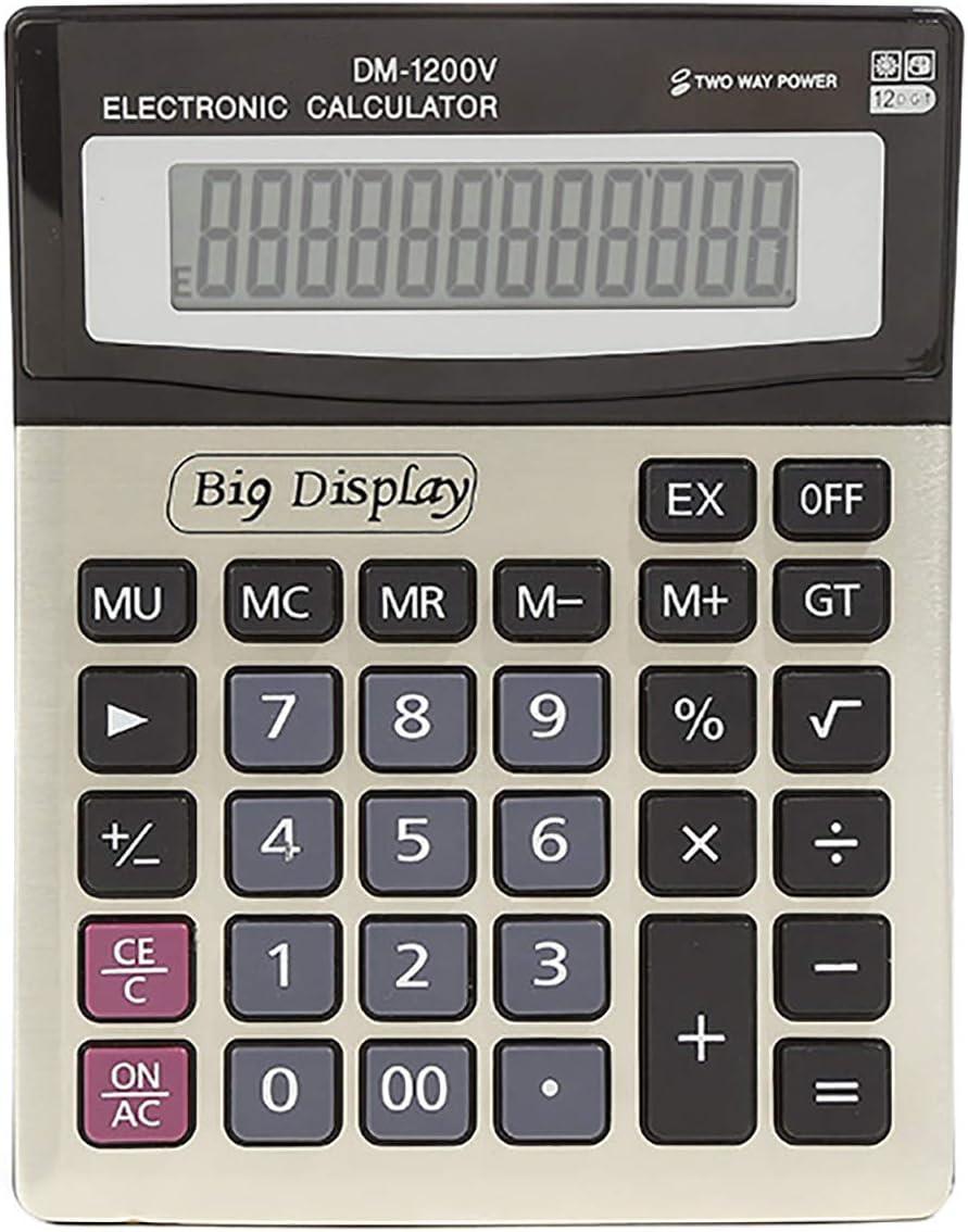 DM-1200V Large 12-Digit Screen Import Stationery Desktop cheap